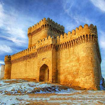 Ramana Tower. Ramana Castle In Baku, Azerbaijan