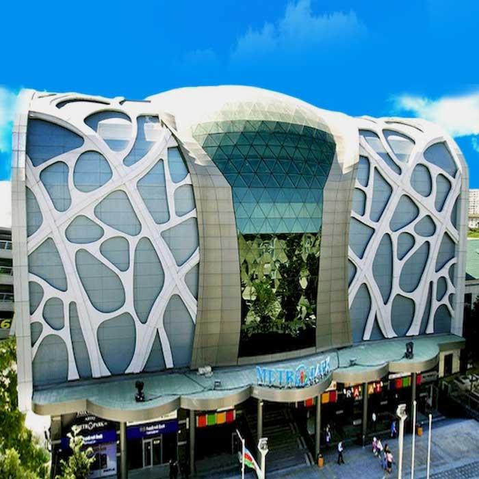 Metropark Shopping And Entertainment Center / Торгово-развлекательный центр Метропарк Молл Баку