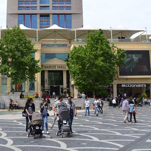 Nargiz Shopping Center In Baku. Nargiz Shopping Mall Baku / Наргиз Молл Баку