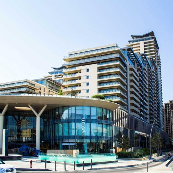 Port Baku Mall Shopping Center in Baku / Торгово-развлекательный центр Порт Баку Молл