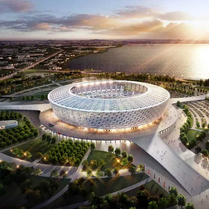 Baku Olympic Stadium. National Olympics Stadium. Baku football stadium